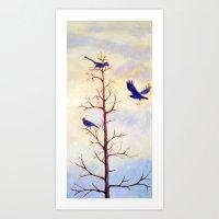 Gathering Tree Art Print