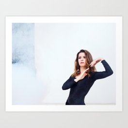 Smoke Art Print