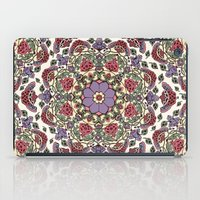 deco iPad Cases featuring Deco Floral by Paula Belle Flores