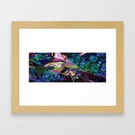 Oiled Thought Framed Art Print