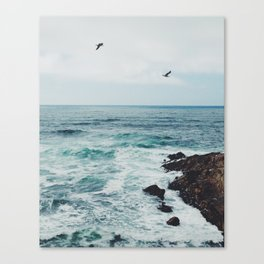 Sea Blue Canvas Print