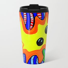Microbes' eyes Travel Mug