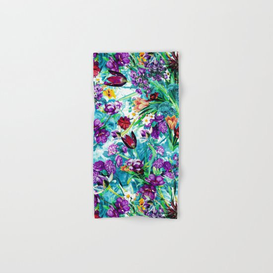 Floral Jungle Hand & Bath Towel