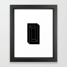 Impossible Space II Framed Art Print