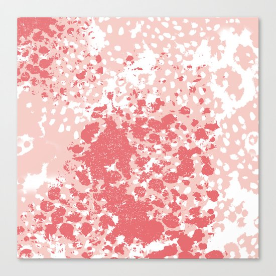 Brooke - abstract painting minimal modern art print home decor must haves Canvas Print