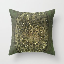 Planetarium / Stellar Map Throw Pillow