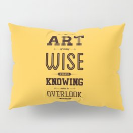 Lab No. 4 The Art Of Being William James Inspirational Quotes Pillow Sham