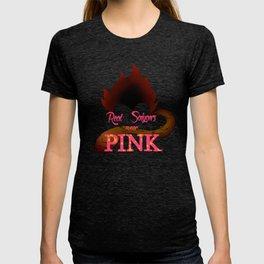 Real Saiyans Wear Pink T-shirt