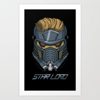 star lord Art Prints featuring Star Lord by Toraneko