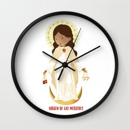 Our lady of Mercy Wall Clock