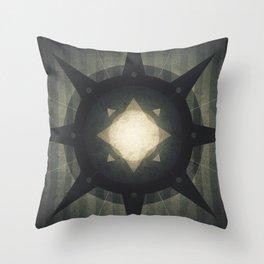 Oberon - Hamlet Crater Throw Pillow