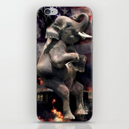 Let It All Burn iPhone Skin