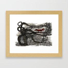 I am colorless Framed Art Print