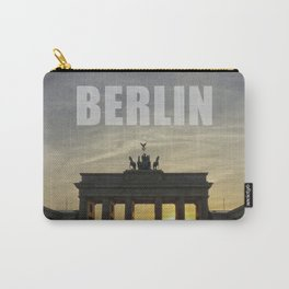 BERLIN, Sunset at the Brandenburg Gate Carry-All Pouch