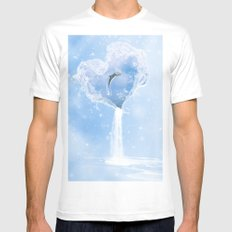 The Heart Of The Ocean MEDIUM Mens Fitted Tee White