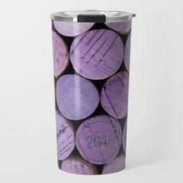 Red Wine Corks 3 Travel Mug