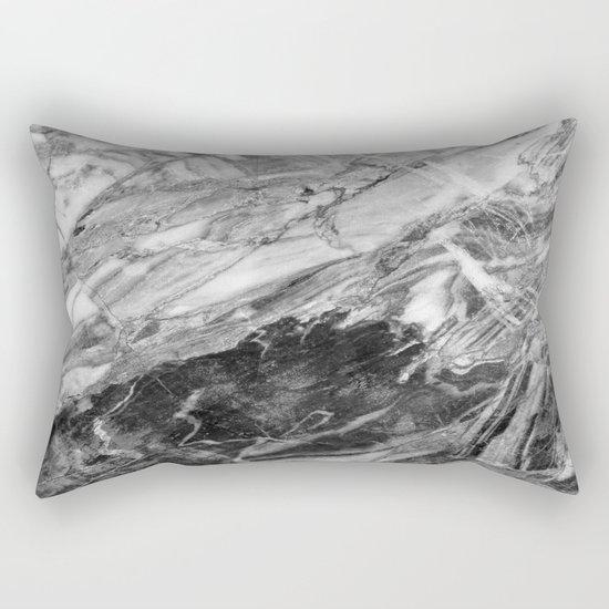 Carrara Marble Rectangular Pillow