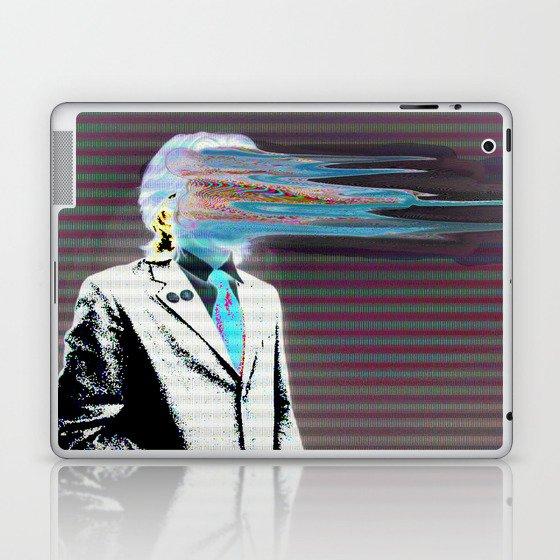 NO ONE AROUND HERE HAS THE GUTS INVERT Laptop & iPad Skin