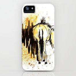 GNU 2 - animal portrait serie iPhone Case