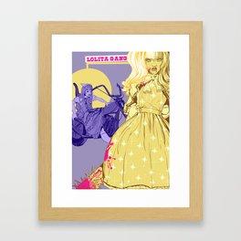 LOLITA GANG Framed Art Print