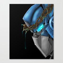 The thorns above his head Canvas Print