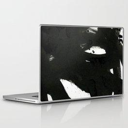 black on white 1 Laptop & iPad Skin