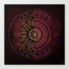 Composition Shields 1 Canvas Print