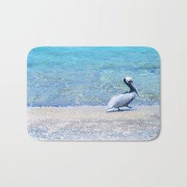 Strutting Pelican Bath Mat