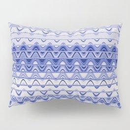 Aztec pattern light blue Pillow Sham