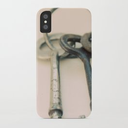 Skeleton Keys iPhone Case