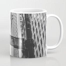 Wall street bw Coffee Mug