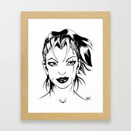 Lady Vixen Framed Art Print