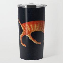 Ginger, Orange Tabby Travel Mug
