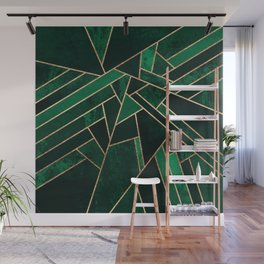 Emerald Night Wall Mural