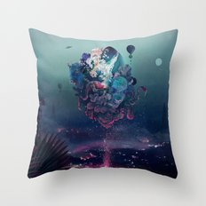 flying object Throw Pillow