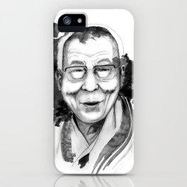Belief & Knowledge (Dalai Lama) by carographic iPhone Case