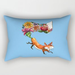 Hunt Flowers Not Foxes Rectangular Pillow