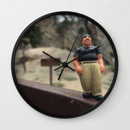 Homies Hike Wall Clock