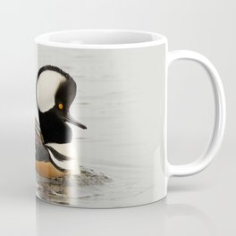 A Tale of Two Hooded Mergansers Coffee Mug