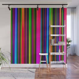 Technicolor LED Sculpture Light Painting Wall Mural