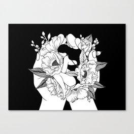 Natural Woman Canvas Print