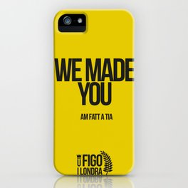 AM FATT A TIA iPhone Case