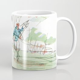Are You Looking At My Putt? Vintage Golf Coffee Mug