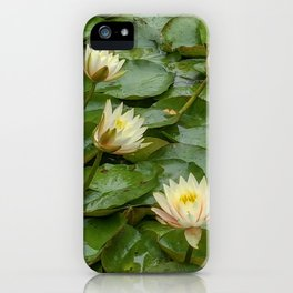 Lotus Blossoms iPhone Case