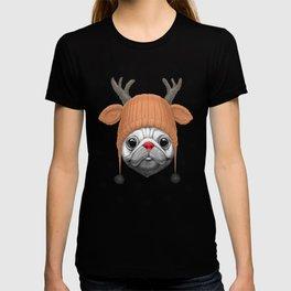 Pug Rudolph T-shirt