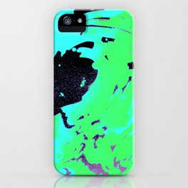 Ocean green wave, pantone 2017 iPhone Case