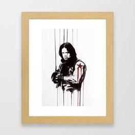 Bucky Framed Art Print