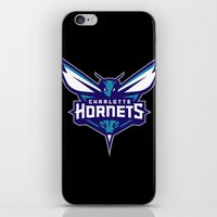 nba iPhone & iPod Skins featuring NBA - Hornets by Katieb1013