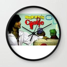 Magic Mike's Castle Retro-1989 Wall Clock
