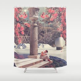 Waiting for my Loneliness to Forgive Me Shower Curtain